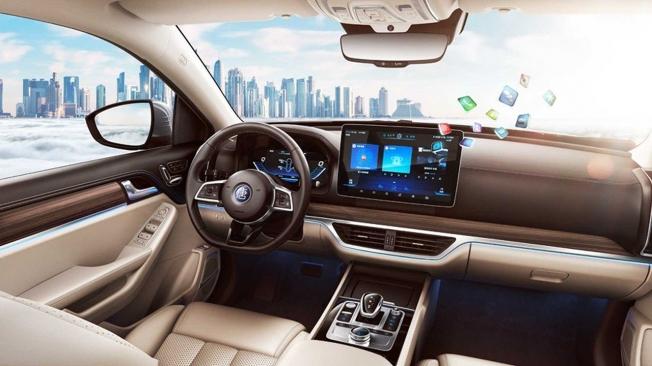 BYD Tang EV 600 - interior