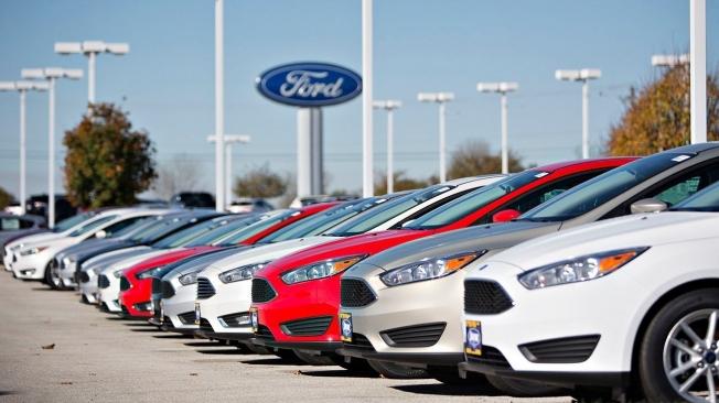 Concesionario Ford en Estados Unidos