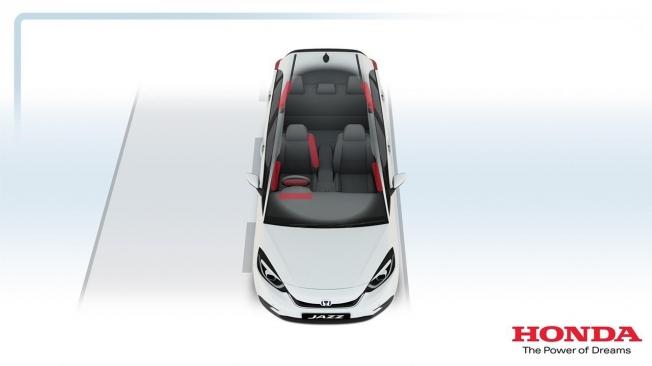 Airbags del Honda Jazz 2020