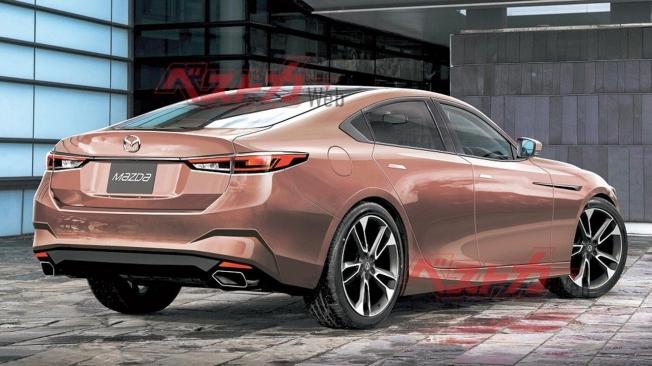 Recreación del Mazda6 2022