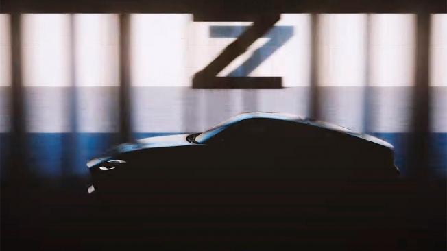 Teaser del nuevo Nissan 370Z
