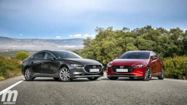 Mazda3 Sedán y Mazda3 5 puertas