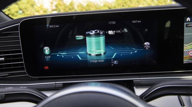 Mercedes GLE 350 de 4MATIC Coupé - Cuadro de instrumentos