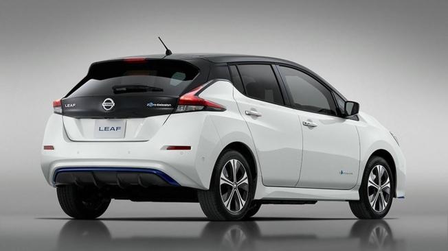 Nissan Leaf e+ - posterior
