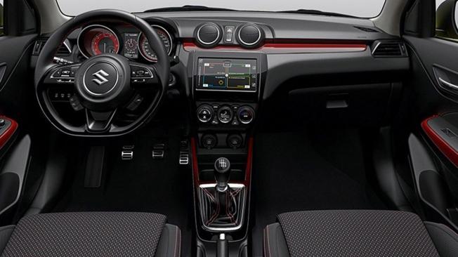 Suzuki Swift Sport Hybrid - interior