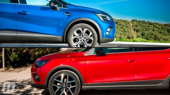 Renault Captur GLP vs SEAT Arona TGI