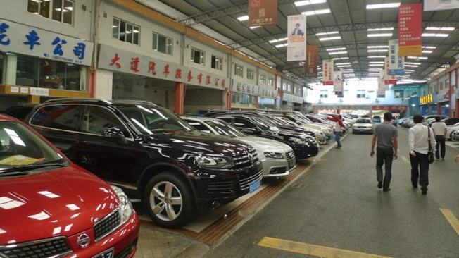 Ventas de coches de ocasión en China