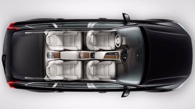Volvo XC90 de cuatro plazas