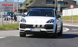 El prototipo del Porsche Cayenne Coupé GTS, avistado a fondo en Nürburgring