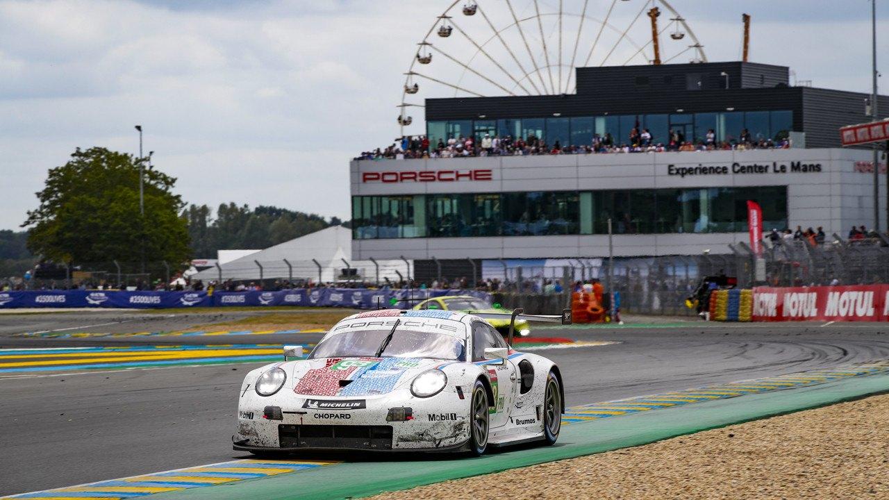 Porsche se queda con dos 911 RSR GTE para las 24 Horas de Le Mans 2020