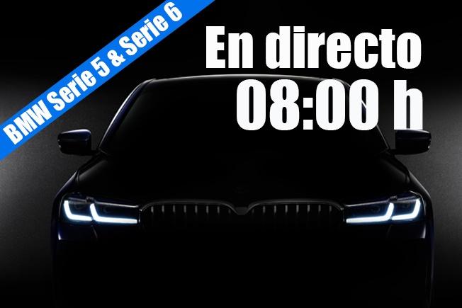 Sigue en directo la presentación de los nuevos BMW Serie 5 y Serie 6 GT 2020