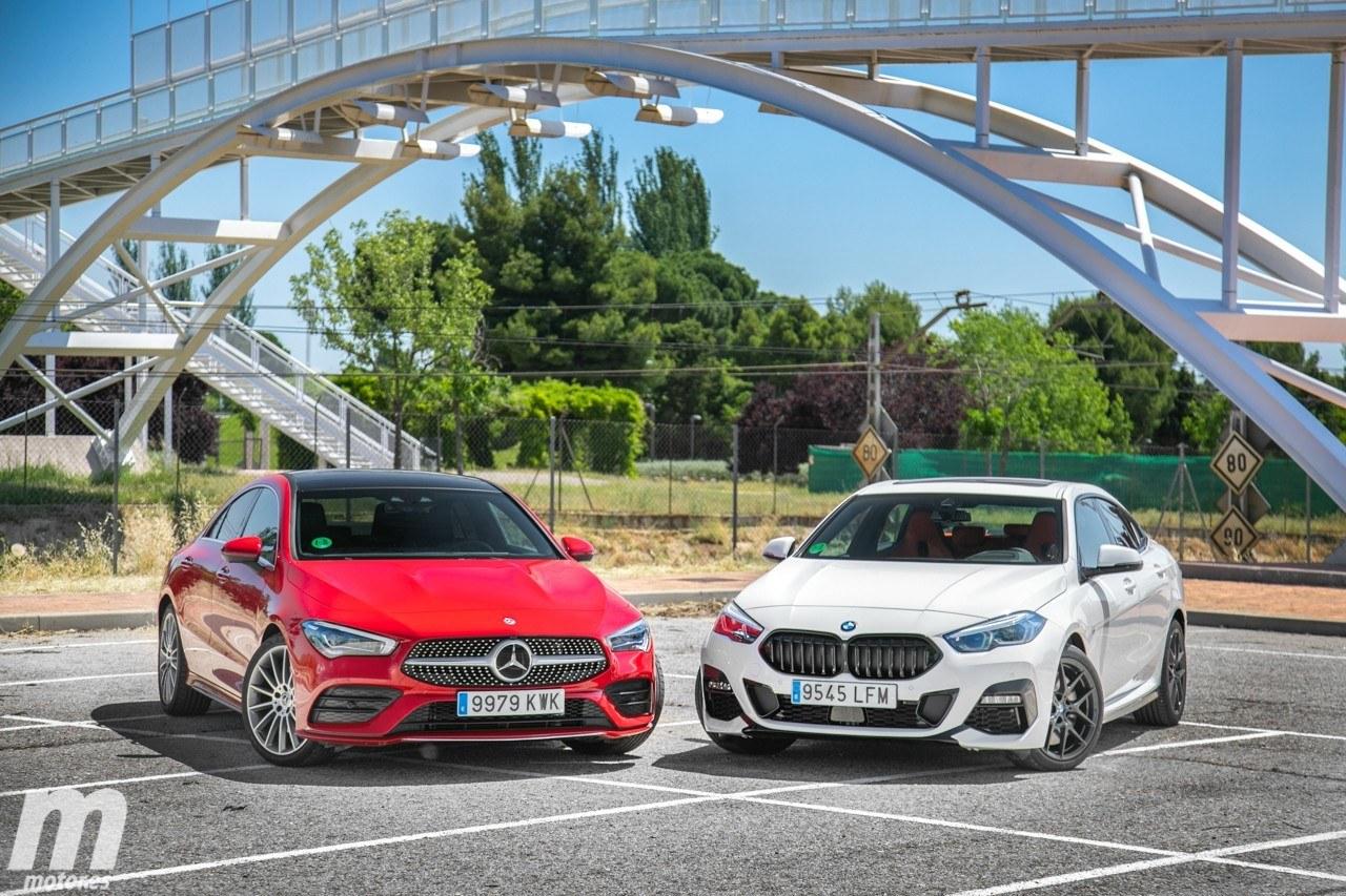 Prueba comparativa BMW Serie 2 Gran Coupé vs Mercedes CLA Coupé (con vídeo)