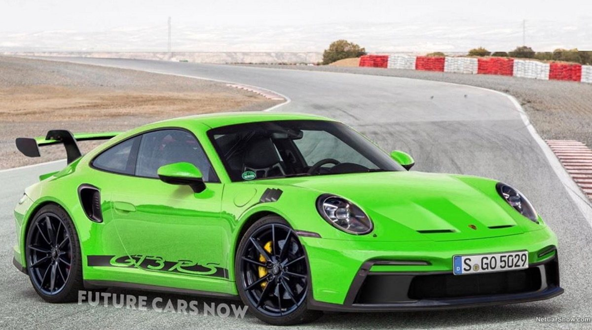Primeros renders del Porsche 911 GT3 RS con su configuración definitiva