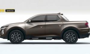 Este es el aspecto definitivo del futuro Hyundai Santa Cruz pick-up