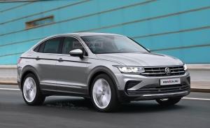 Así será el aspecto del futuro Volkswagen Tiguan X Coupé