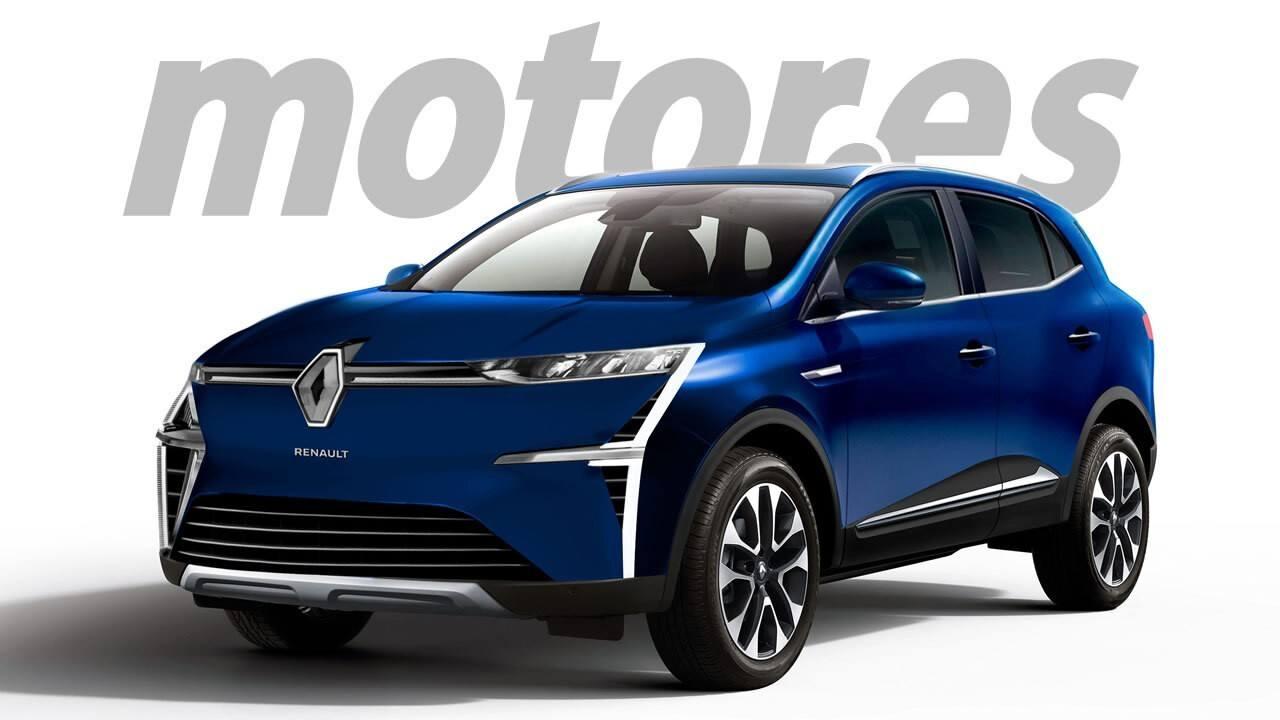 Renault Mégane Cross, el rombo ve el futuro compacto como un crossover para 2023