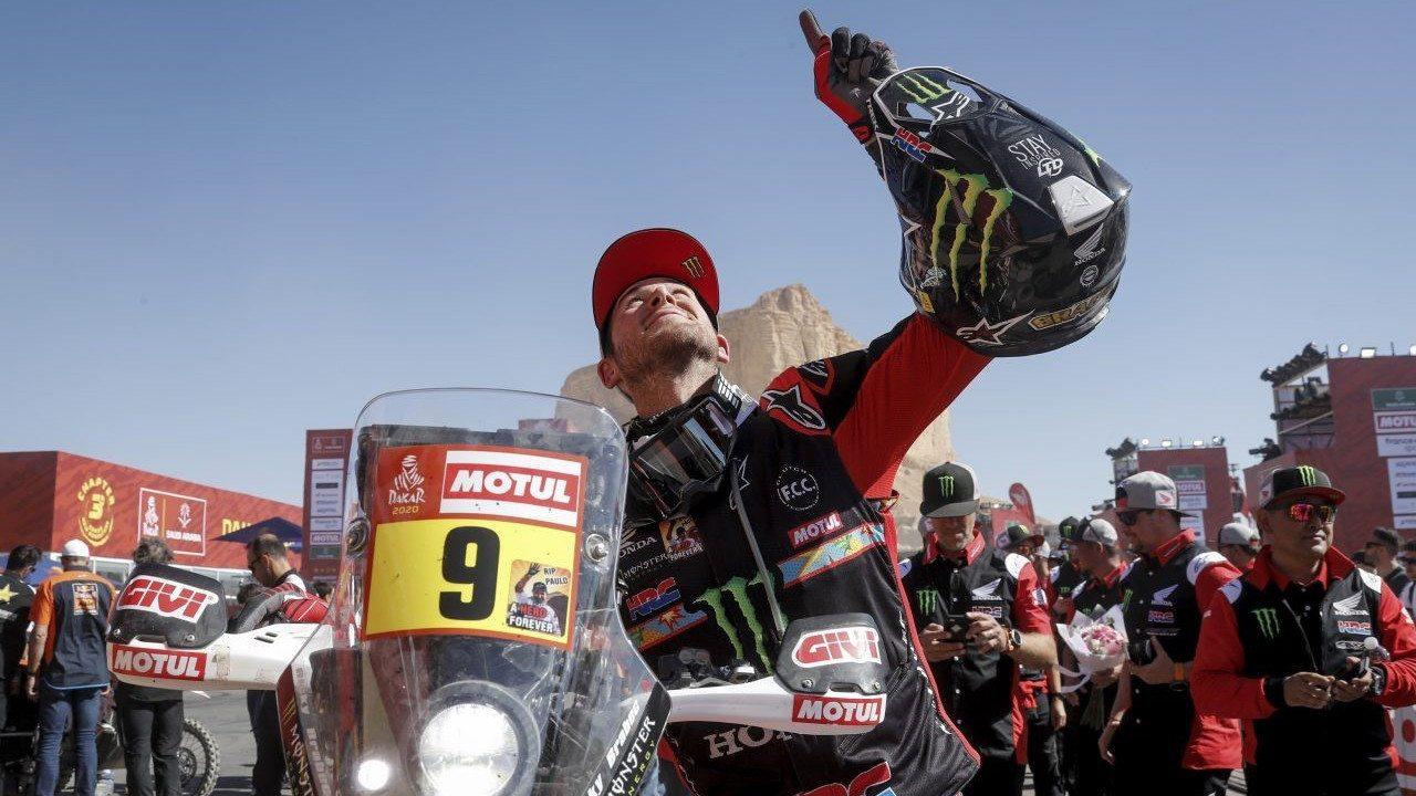 Ricky Brabec: «Poder ganar el Dakar fue un sueño hecho realidad»