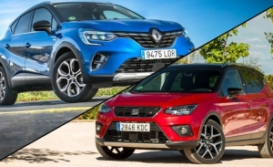 SEAT Arona TGI vs Renault Captur GLP, comparativa de B-SUV con etiqueta ECO