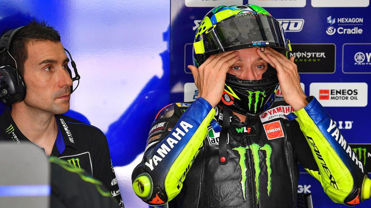 Valentino Rossi cree que «es una pena» que MotoGP corra a puerta cerrada