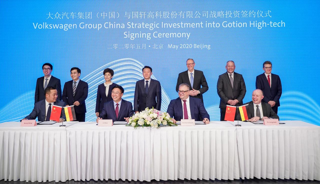 Volkswagen ata los cabos en China y controlará una joint-venture con JAG