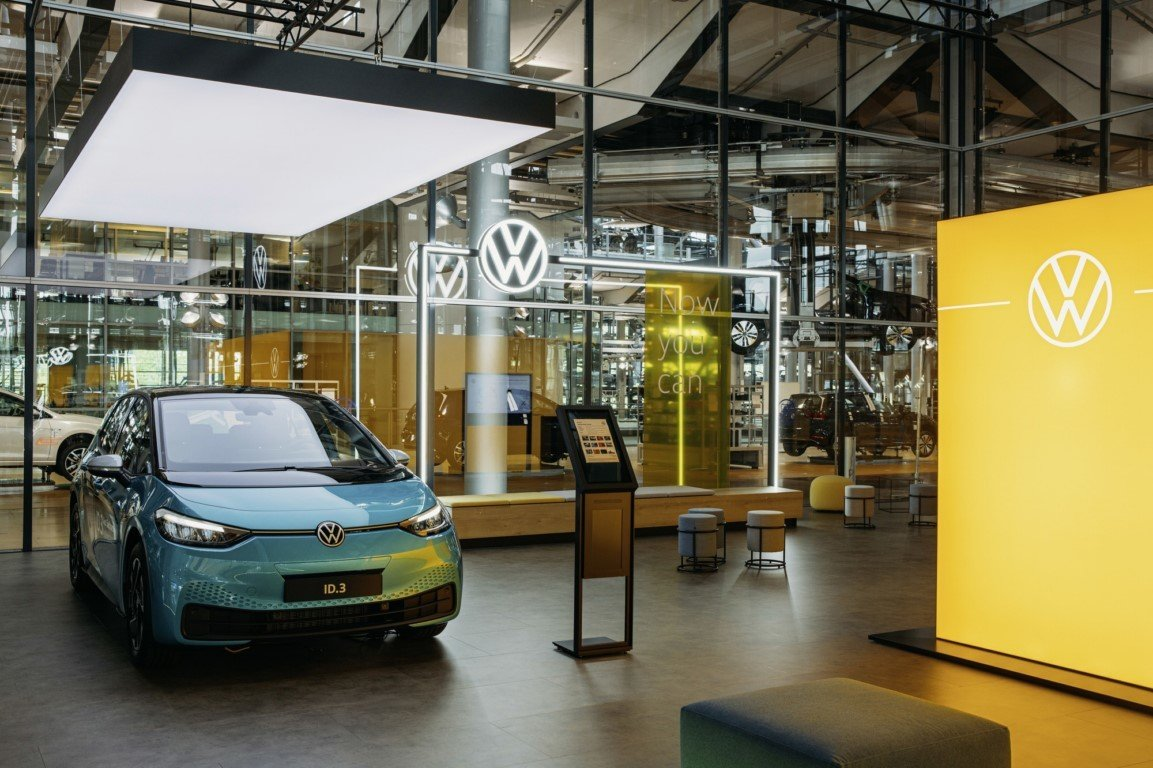 El Volkswagen ID.3 inaugura los nuevos concesionarios ID Store