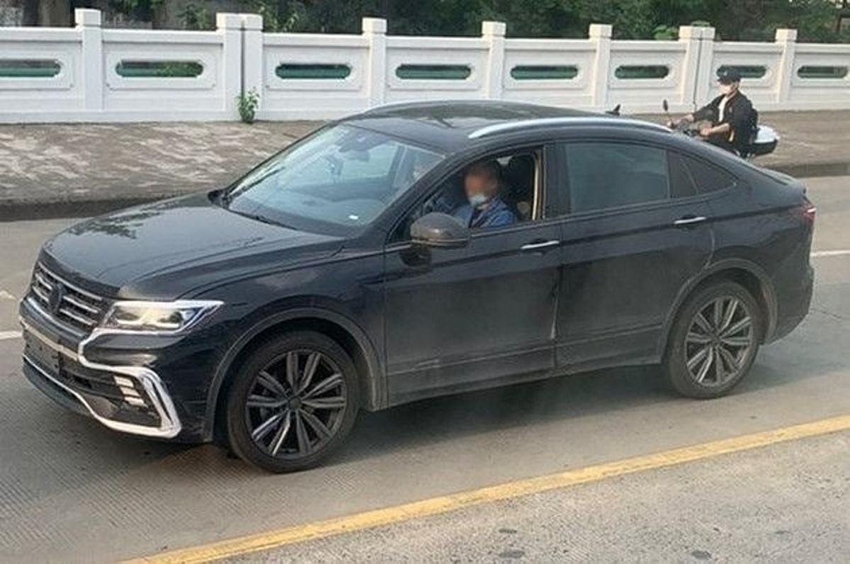 Primeras imágenes del nuevo Volkswagen Tiguan X Coupé en la calle