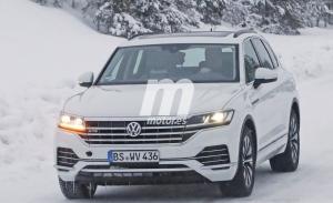 El nuevo Volkswagen Touareg GTE 2020 termina su fase de pruebas en la nieve