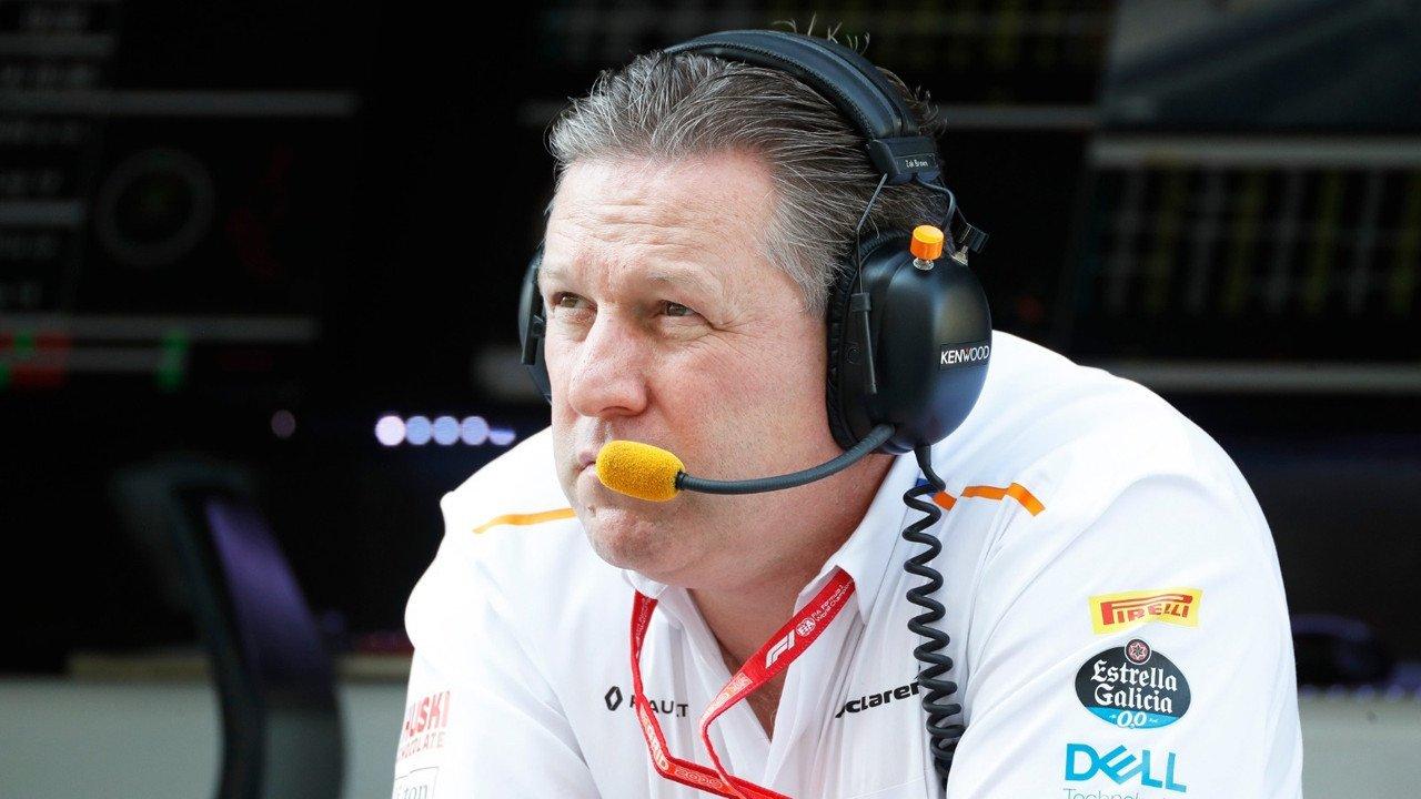 Zak Brown: «Creo que las reglas LMDh son geniales para McLaren»