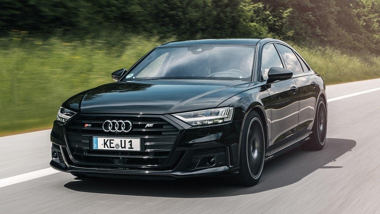 El exclusivo Audi S8 aumenta su potencia gracias al impulso de ABT Sportsline