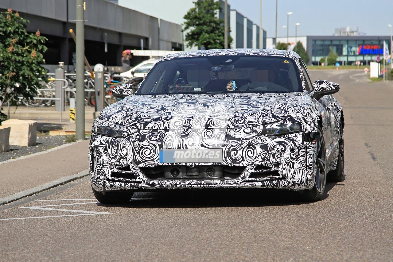 El Audi e-tron GT 2021, el tercer eléctrico, cazado en pruebas por Alemania