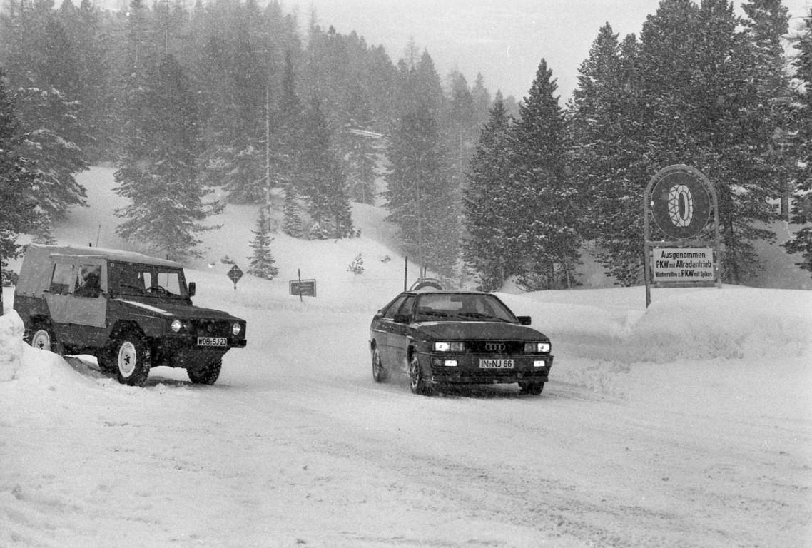 Audi está de celebración, la tracción quattro cumple 40 años