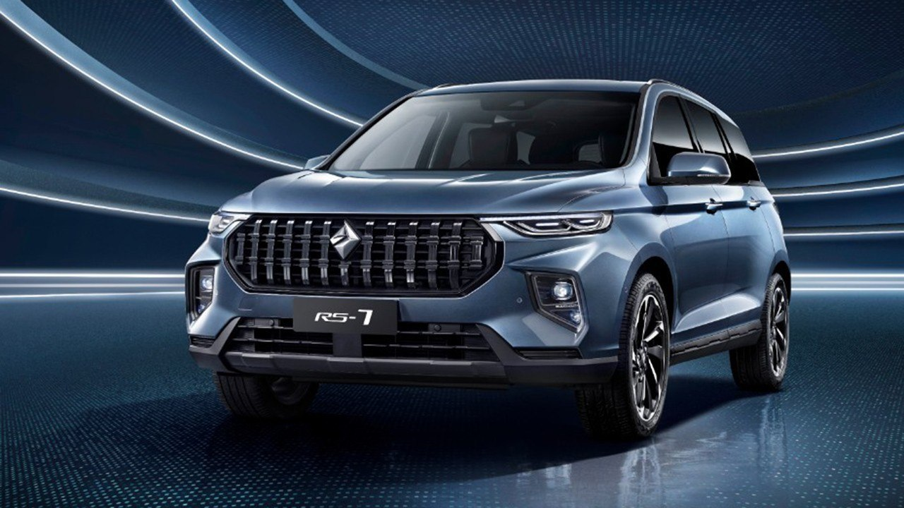 Baojun RS-7, un nuevo SUV de 7 plazas destinado al mercado chino