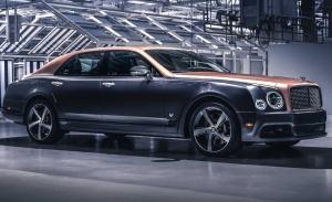 Fabricado el último Bentley Mulsanne y con él se va el mítico V8 de 6.75 litros