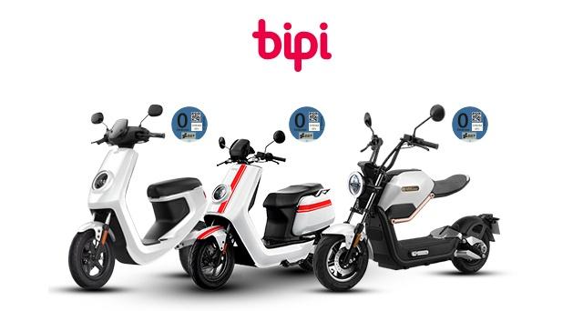 Bipi ofrece motos eléctricas por 99 euros al mes, todo incluido salvo la electricidad