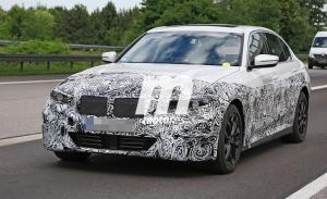Directo a por el Tesla Model 3: el nuevo BMW Serie 3 EV vuelve a ser cazado, llegará en 2022