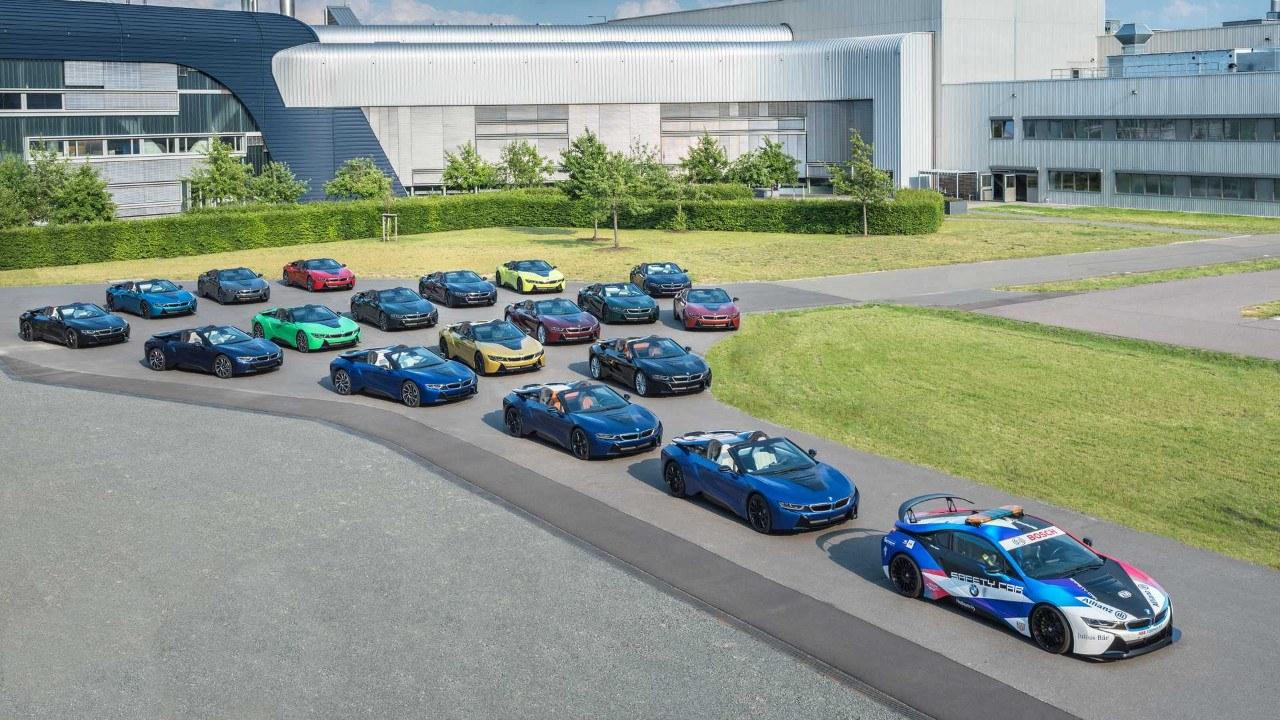 El BMW i8 se despide de la cadena de montaje con 18 piezas únicas