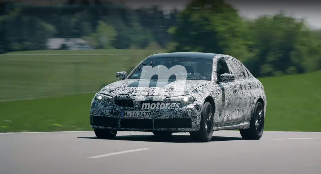 Primer teaser del nuevo BMW M3 G80, el debut de la sexta generación se acerca