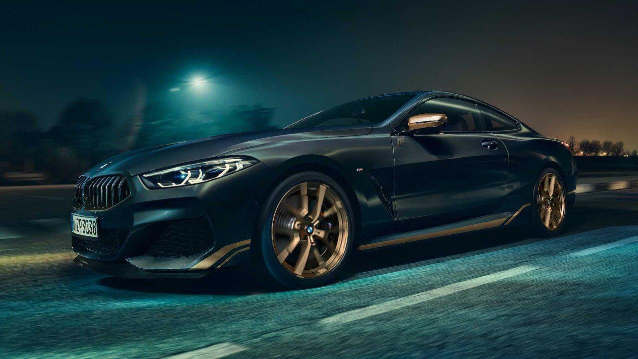 BMW anuncia el nuevo Serie 8 Golden Thunder Edition