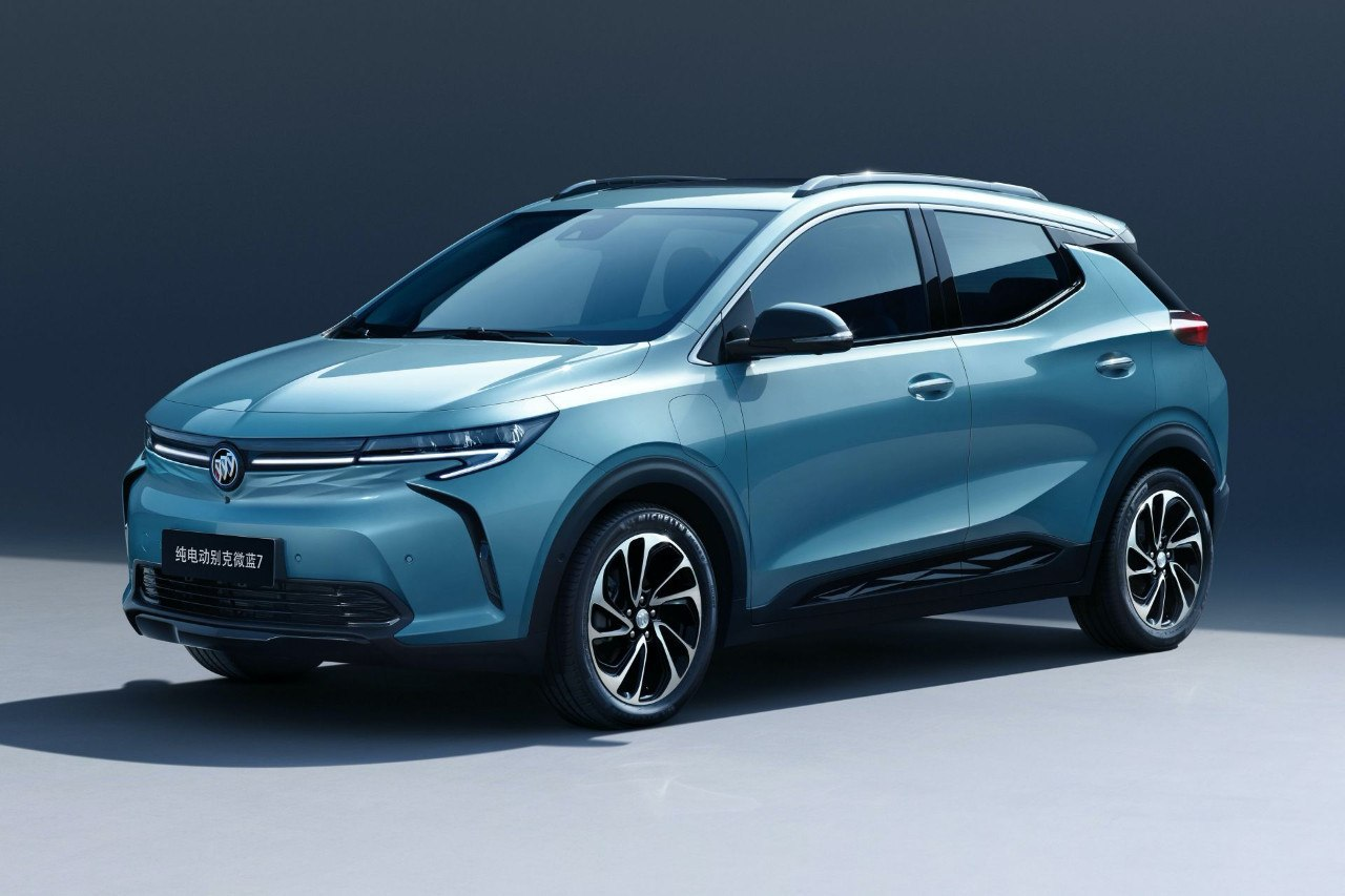Buick Velite 7: desvelado el nuevo SUV eléctrico compacto de GM