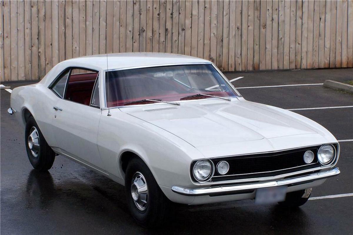 Aparece a la venta el primer Chevrolet Camaro fabricado en California