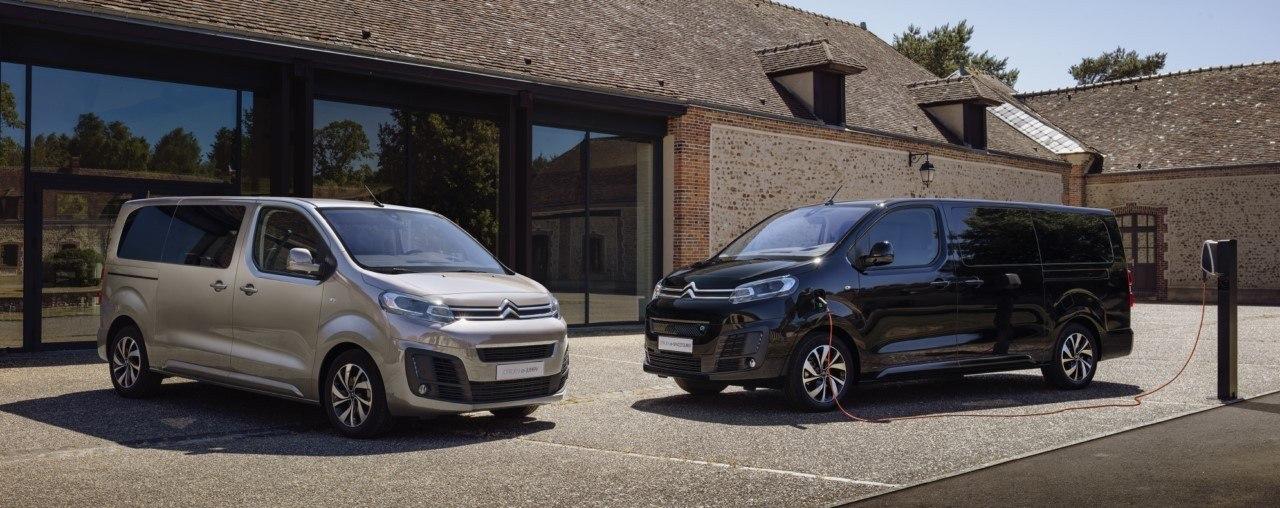 Citroën ë-SpaceTourer, se presenta el monovolumen francés de 9 plazas y eléctrico