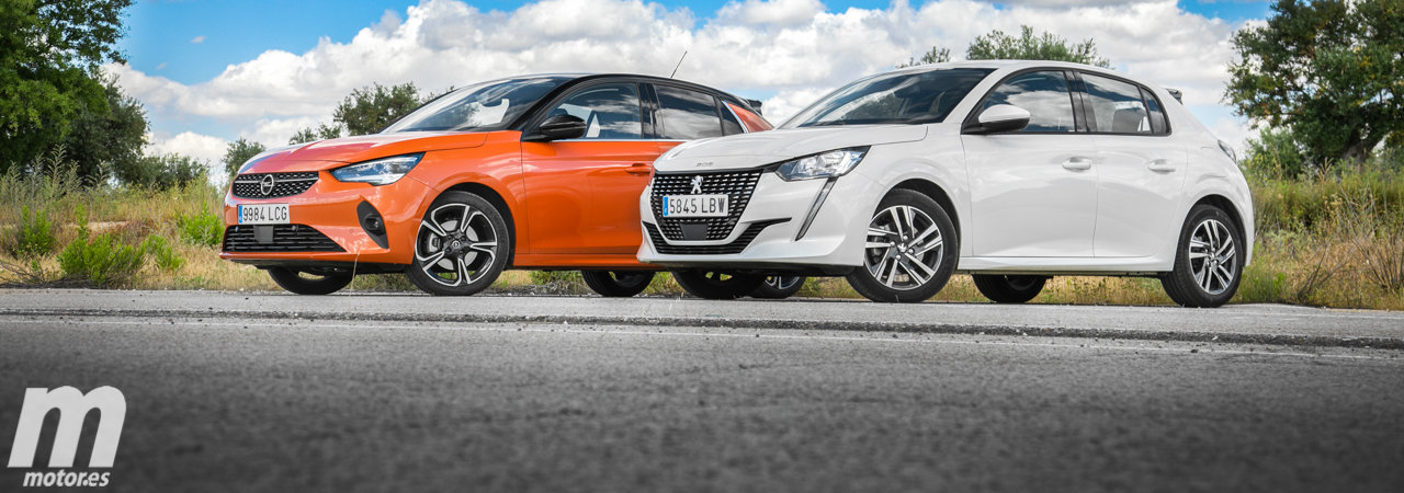 Opel Corsa vs Peugeot 208, duelo fraticida (Con vídeo)