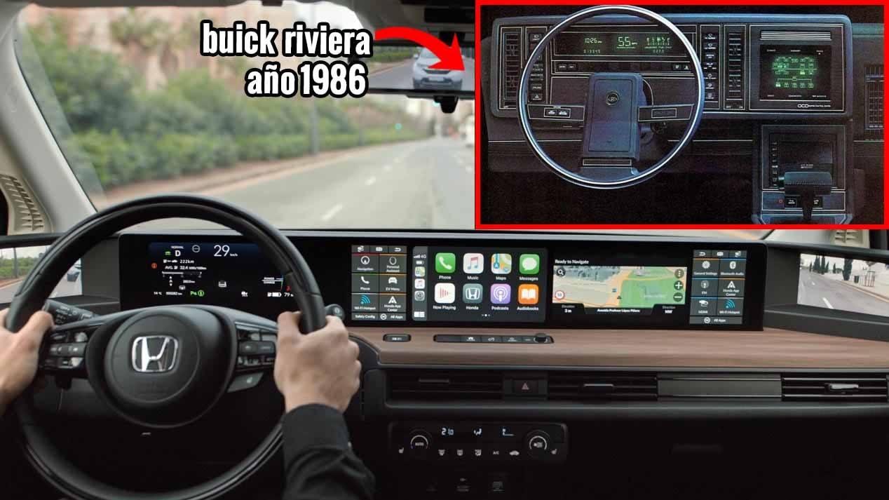 De los rayos catódicos al OLED, así han evolucionado las pantallas de los coches