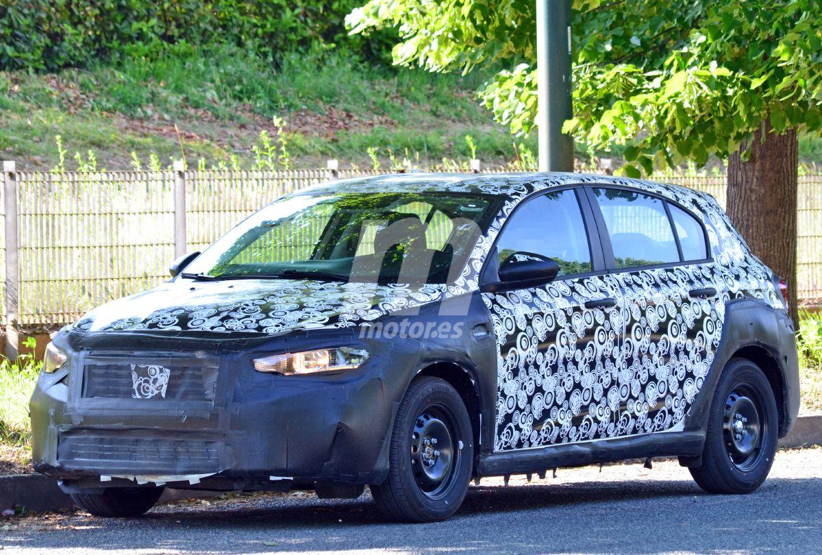 Nuevas fotos espía del FIAT Tipo Cross ¿qué sabemos ya de él?