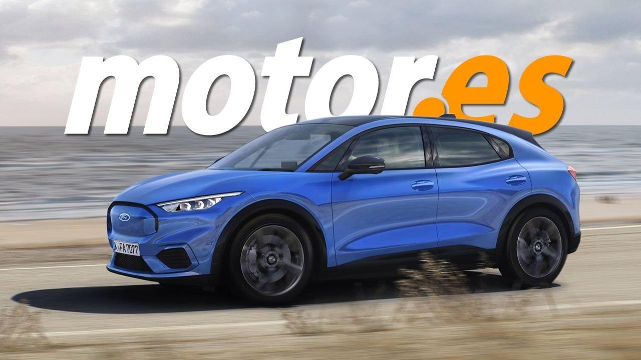 Adelantamos el nuevo SUV compacto eléctrico de Ford, previsto para 2023