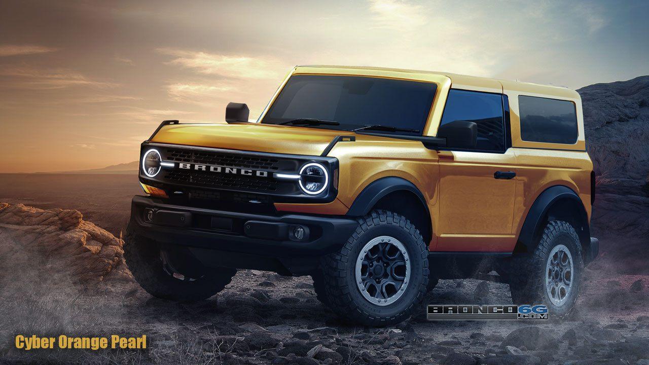 Confirmado: el Ford Bronco contará con motores de 6 cilindros