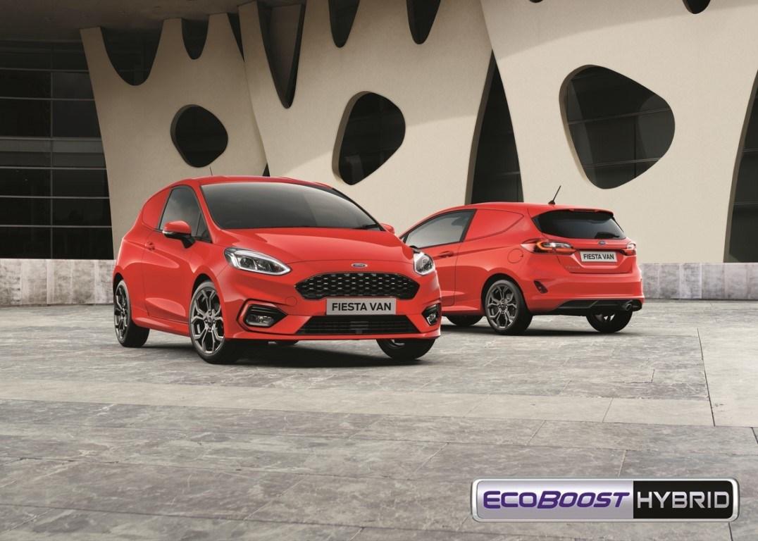Ford Fiesta Van, llega la tecnología híbrida EcoBoost al utilitario comercial