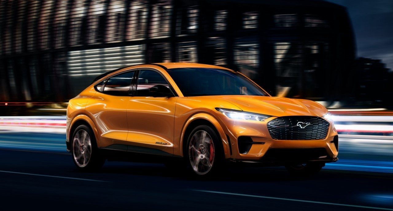 El nuevo Ford Mustang Mach-E GT hereda un color muy especial del pony car