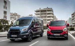 Ford estrena los Transit y Transit Custom Trail, dos comerciales off-road