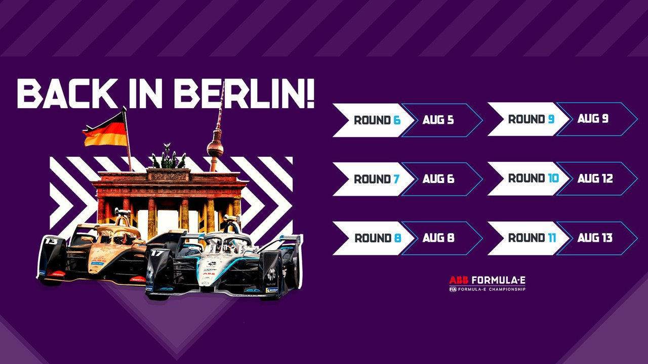 La Fórmula E finaliza su 'Season Six' en Berlín con seis carreras en nueve días